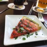 Gruß aus der Kücche: gegrillte Melone