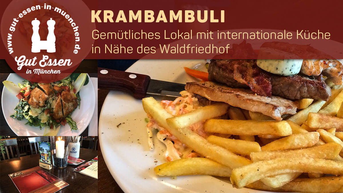 Krambambuli mit internationaler Küche