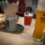 Neben dem guten Augustiner, gibts alkoholfreies König-Ludwig-Weißbier und selbstgemachte Limonaden