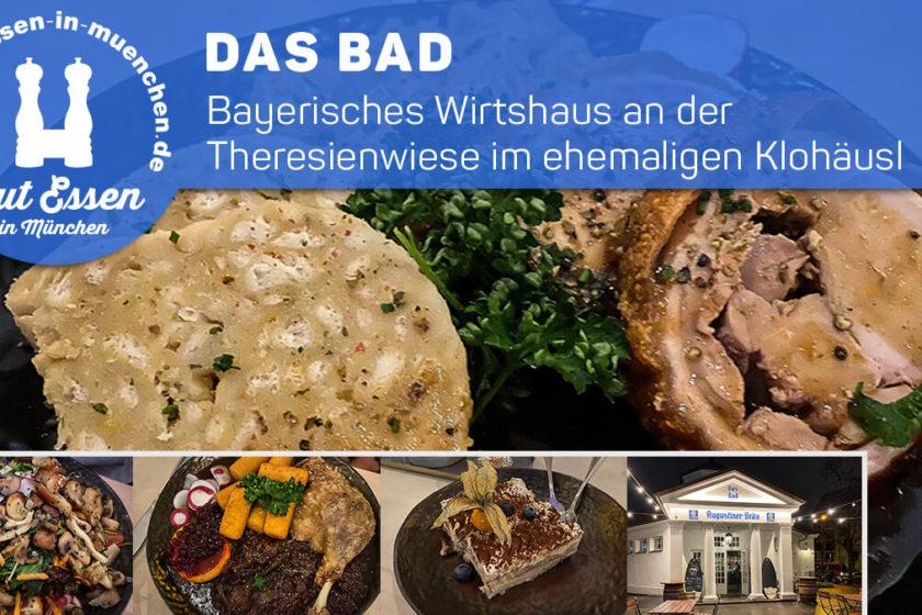 Das Bad am Bavariaring/Theresienwiese im alten Klohäusl