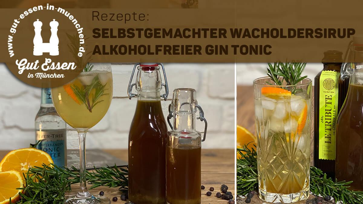 Alkoholfreier »Gin«: Wacholdersirup schnell selbstgemacht